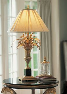 invitinghome: brass lamps will look great in a home library, in a sophisticated entry way, they are a great addition to the master bedroom ...