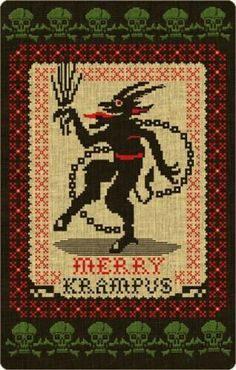 Krampus - I want to make this into a pattern