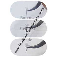 Narrow-medium-wide -if they fanned whole the way ,these all type of fans have their place in eyelash industry ,you just need to know when to use narrow when wider Types Of Eyelash Extensions, Eyebrow Extensions, Curling Eyelashes, Fake Lashes, Russian Volume Lashes, Eyelash Tips, Lash Room, Semi Permanent Makeup, Natural Lashes