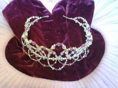 Lilac Fairy tiara by Gemma Shore