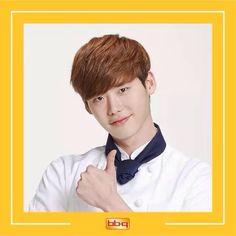 Lee Jong Suk - bbq chicken