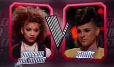 "Ameera Delandro and Sonic of Team Christina Aguilera performed their version of Jessie J's ""Masterpiece"" on The Voice Season 8 (2015) Battle Rounds on Tuesday, March 10, 2015."