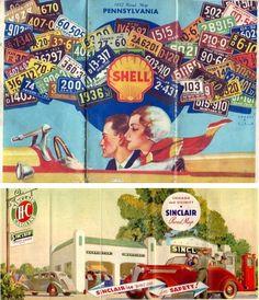 #vintage oil company #cartography