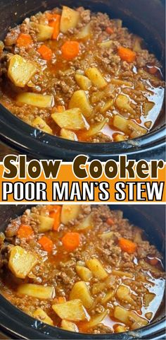 Slow Cooker Stew Recipes, Crockpot Dishes, Crock Pot Cooking, Beef Recipes, Cooking Recipes, Recipies, Slow Cooker Mince, Slow Cooker Chicken Stew, Crockpot Ideas