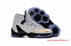new style 74a31 4fdf8 2016 Nike LeBron 13 Elite White Golden Black Dots Basketball Shoes Nike Kd  Shoes, Nike