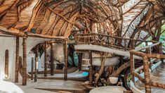 A Look Inside Azulik Tulum Treehouse Eco Resort – Tripping with my Bff Azulik Hotel Tulum, Tulum Beach, Destin Beach, Wooden Path, Tulum Ruins, Hot Beach, Organic Architecture, Bamboo Architecture, Viajes