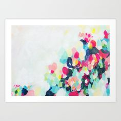 Little+Hills+1+-+Abstract+landscape+Painting+Art+Print+by+Jen+Sievers+-+$22.88