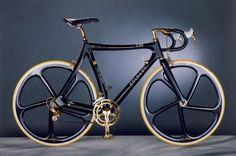 Gold-black Colnago C35