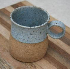 rustic handmade mug ©2017 earthforms by Marie Wingate