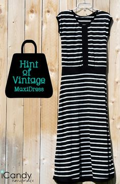 Hmmm . . . Sew your own Maxi dress. Maybe I could do this? I hate all my clothes. Would be interesting.