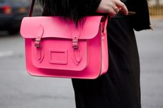 CAMBRIDGE SATCHEL COMPANY  #bag #pink