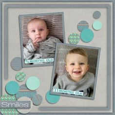 GingerScraps :: Kits :: His First Year by BoomersGirl Designs