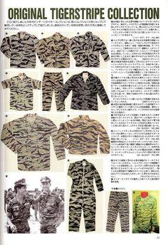 Vietnam war tiger stripe camouflage bdu collection