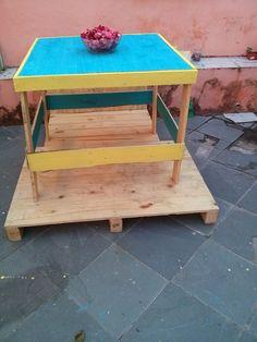 mesa de madeira rustica madeira pallet sobre pallet madeira