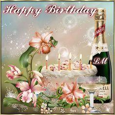 Birthday Wishes Gif, Happy Birthday Photos, Birthday Name, Birthday Greetings, Name Day, Happy B Day, Birthdays, Table Decorations, Grass