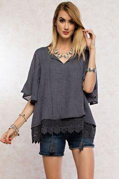 Vibrant Urban Bohemian blouse