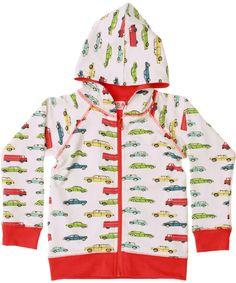 Baba Babywear cute harbour printed reversible cardigan. baba-babywear.en.emilea.be