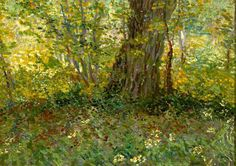 Van Gogh, Undergrowth, 1887, oil on canvas, Centraal Museum, Utretcht--this so captivated me when I saw it in person; he captured the atmosphere of the forest undergrowth
