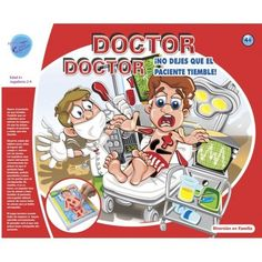 Juguete DOCTOR DOCTOR JUEGO DE MESA Precio 9,49€ en IguMagazine #juguetesbaratos