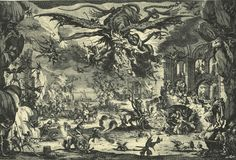 abystle: The Temptation of Saint Anthony, Jacques Callot, 1634.