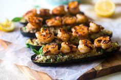 Grilled+Stuffed+Zucchini+with+Shrimp+Recipe