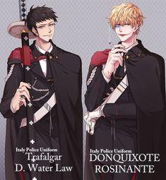 Trafalgar Law & Donquixote Rosinante