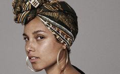 Alicia Keys no makeup inspiration