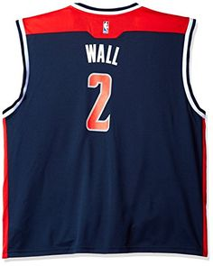 cheap for discount 86658 3f9f1 NBA Washington Wizards John Wall  2 Replica Jersey. Designed to duplicate  the look of