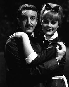 Peter Sellers and Elke Sommer in A Shot in the Dark.