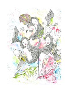Estate  La meravigliosa tavola che Ilaria Gasperotti ha realizzato per livingwomen.  Abbiamo pensato di accompagnarla con questi versi del giovanissimo (anche lui) poeta romantico inglese John Keats