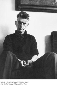 """""""On trouve toujours quelque chose (...) pour nous donner l'impression d'exister"""". - Samuel Beckett."""
