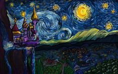A Starry Night in Equestria by WingFlyte.deviantart.com on @deviantART