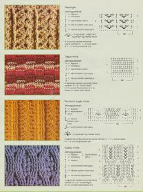 Horgolásról csak magyarul.: MINTÁK RAJZZAL LEÍRÁSSAL Knitting Socks, Knitting Stitches, Stitch Magazine, My Socks, Jelsa, Needle And Thread, Thread Crochet, Hippie Style, Crochet Patterns
