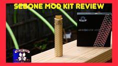 Steel Vape {Sebone Mod Kit} Review & Build   Voltage Drop Test #girlsthatvape #vaping #ejuice #ecigs #vapelyfe