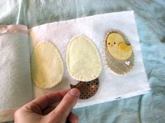 Easter Spring Time Quiet Book by loricool on Etsy, $24.00