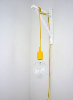 Beautifully simple yellow light