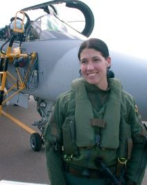 Catherine Labuschagne Gripen_female_pilot South Africa