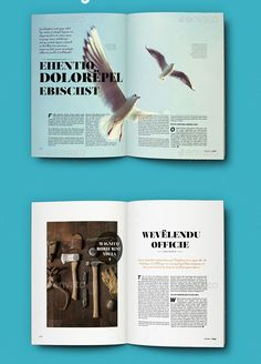 InDesign A4 Magazine Template 2
