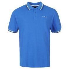Tricoul polo Pierre Cardin T este ideal pentru purtarea de zi cu zi, disponibil intr-o gama larga de culori, prezinta dungi de jur imprejurul manecilor si a gulerului si, de asemenea, are brodata in piept emblema brandului. Acest tricou polo are un design clasic, cu 3 nasturi la anchior, guler si este dintr-un bumbac moale pentru confortul purtatorului. Pierre Cardin, Polo Shirt, Polo Ralph Lauren, Mens Tops, Shirts, Fashion, Moda, Polos, Fashion Styles