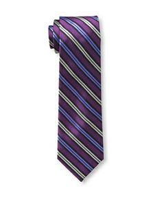 55% OFF Ben Sherman Men's Plymouth Stripe Tie, Berry