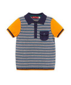 Little Bird by Jools Knitted Polo