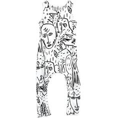 Martim Jumpsuit in Camoanimaux Print by Wolf And Rita X JC de Castelbajac - Junior Edition - 1