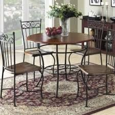 There are plenty choices of kitchen table sets for small spaces available in the market. Some are made from woods, while some