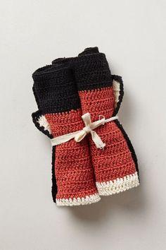 Lussi Crocheted Dishcloths - anthropologie.com