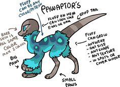 Pawraptors! An open Species by Griffsnuff on DeviantArt
