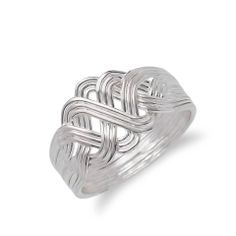 Theia Turkish Silver Puzzle Ring & Turkish Wholesale Silver Jewelry #wholesale #turkish #silver #puzzle #ring #jewelry #women #fashion www.facebook.com/TheiaSilverJewelry