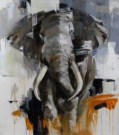 Original Animal Painting by Bond Tetiana Rain Painting, Fabric Painting, Oil Painting On Canvas, Canvas Art, Abstract Expressionism Art, Art Fair, Animal Paintings, Artist Art, Saatchi Art