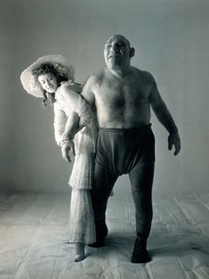 "Real life Shrek. Maurice Tillet was actually a very intelligent person who was a poet and writer. He could speak 14 languages.  Tillet was born in 1903, and as a teenager he manifested a rare disease called acromegaly, which caused his bones to grow uncontrollably. As a result his body was disfigured, and he turned into what people back then referred to as ""freak show""; He took advantage of his condition, turning into a pro wrestler called the ""freak ogre of the ring""."