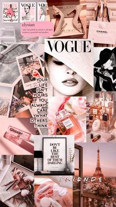My Passions Collage | Aesthetic Desktop Wallpaper, Iphone