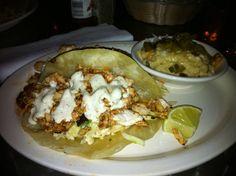 Mango BBQ Mahi Mahi Tacos...Cabo Fish Taco, NC...Diner's/Drive-Ins/Dives  http://www.foodnetwork.com/recipes/mango-bbq-mahi-mahi-tacos-recipe/index.html